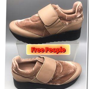 Free People Cushion Women's Platform Sneakers NEW